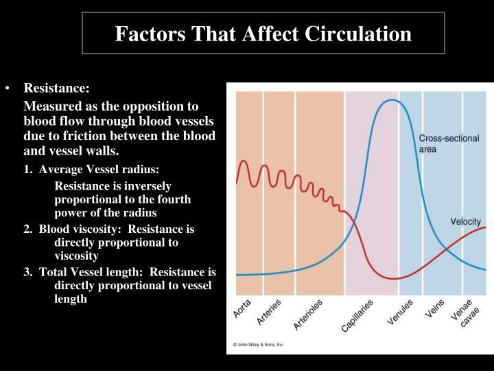 Factors That Affect Circulation