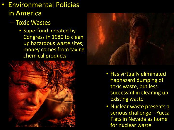 Environmental Policies in America