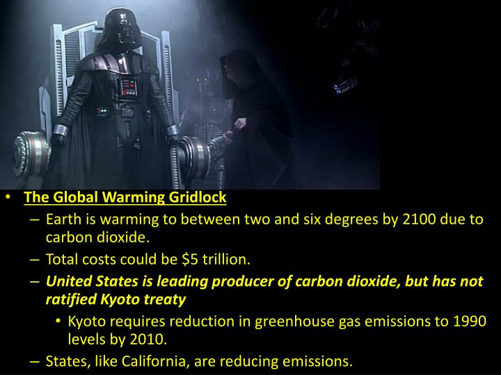 The Global Warming Gridlock