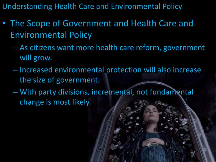 Understanding Health Care and Environmental Policy