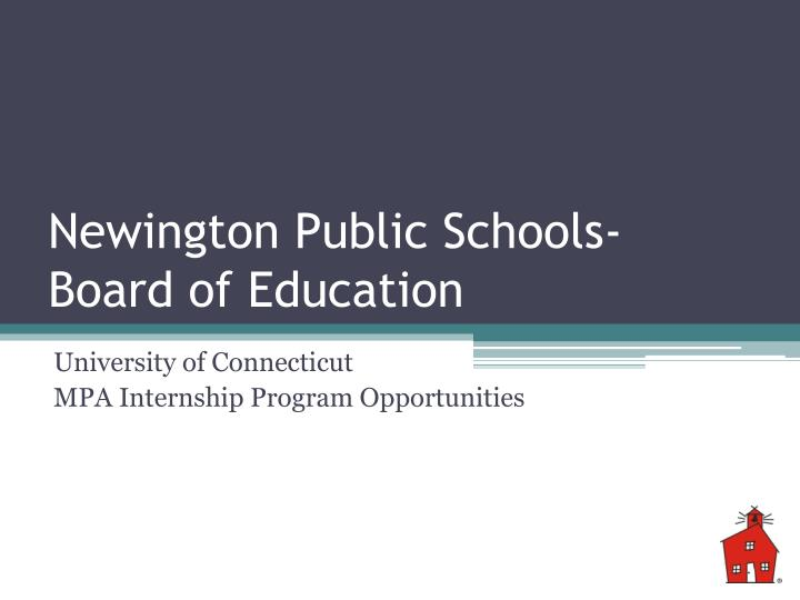 Newington public schools board of education