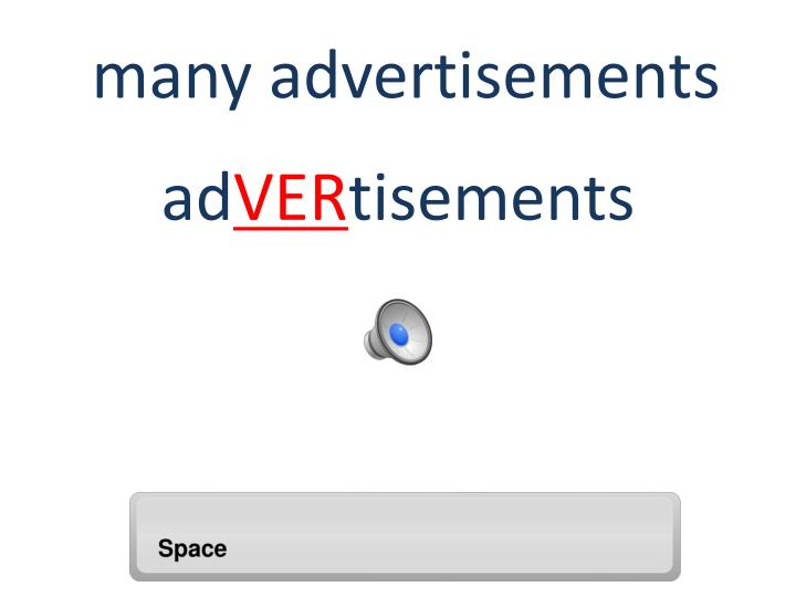 many advertisements