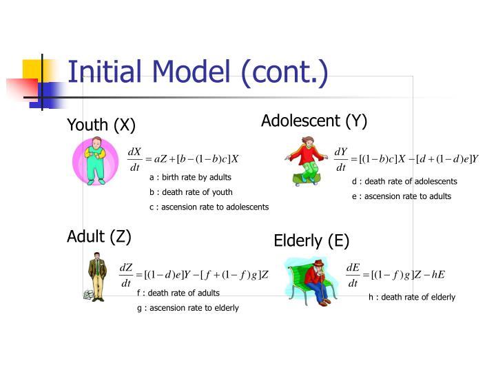 Initial Model (cont.)