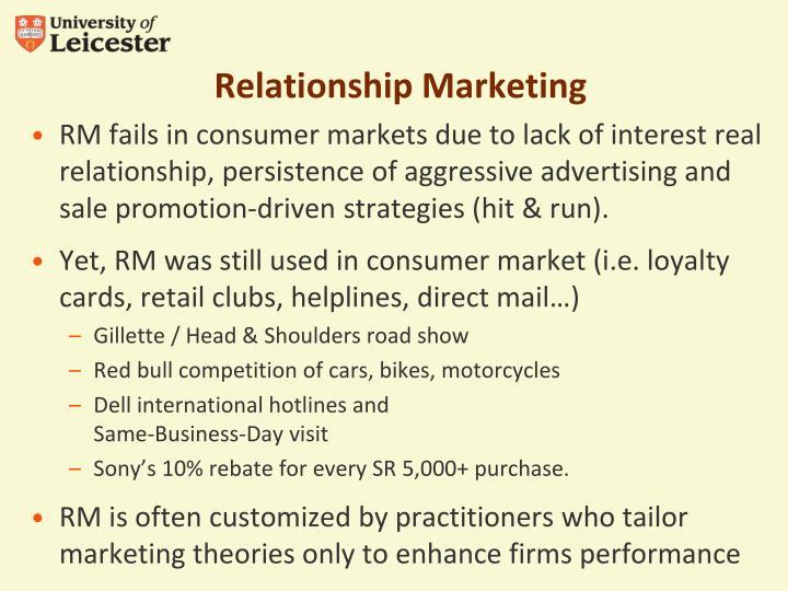 Relationship Marketing