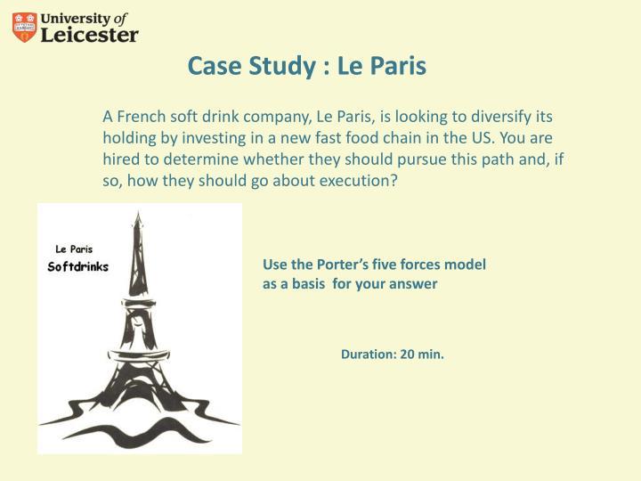 Case Study : Le Paris