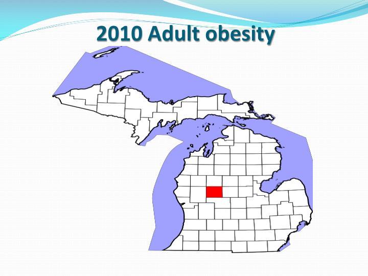 2010 Adult obesity