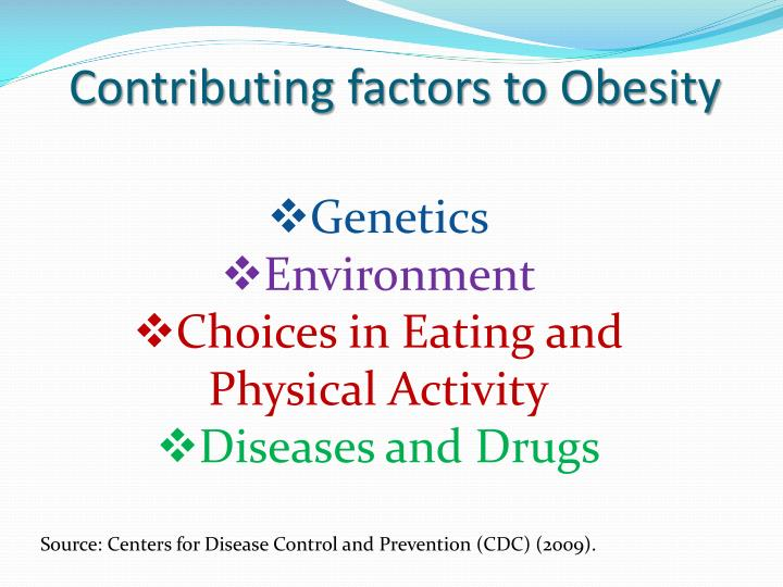 Contributing factors to Obesity