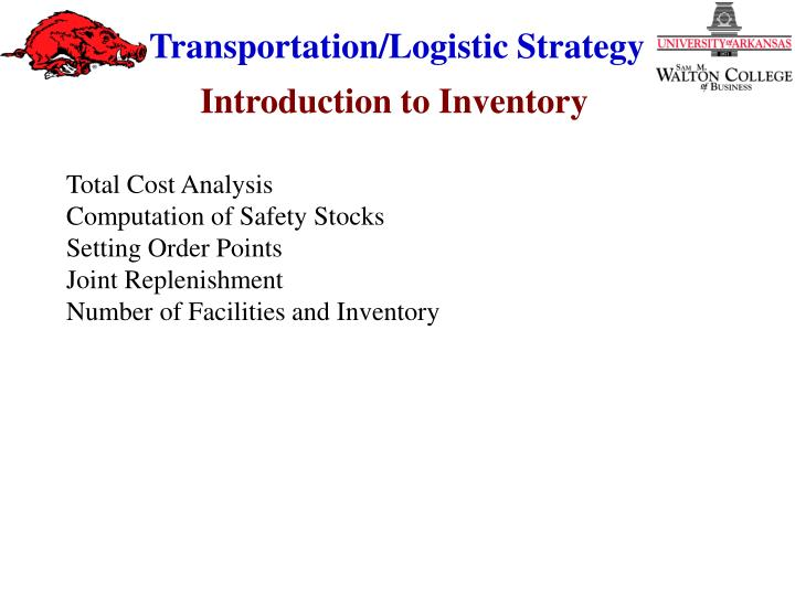 Introduction to Inventory