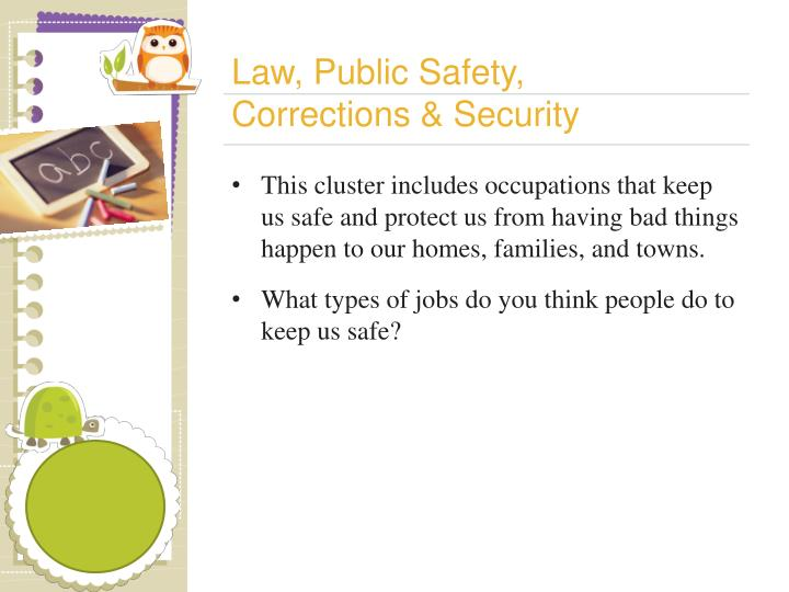 Law, Public Safety,