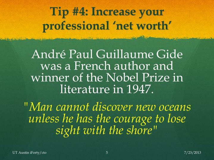 Tip #4: