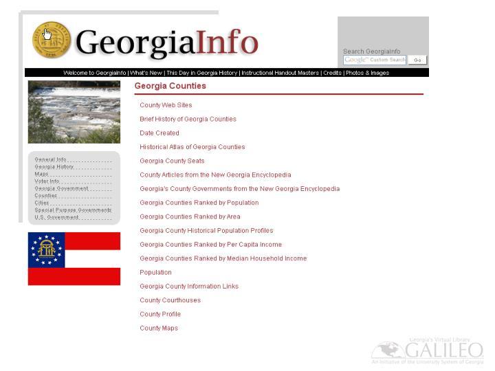 GeorgiaInfo for All Things Georgia