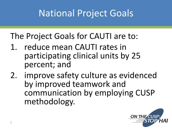 National Project Goals