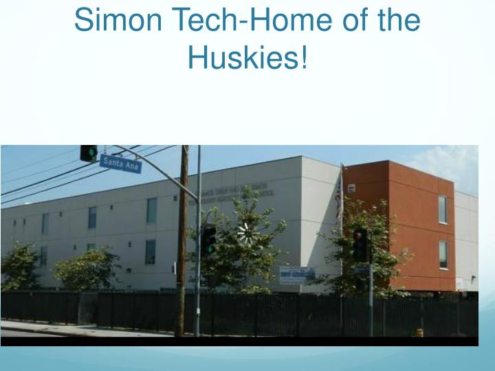 Simon tech home of the huskies