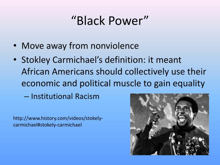 """Black Power"""