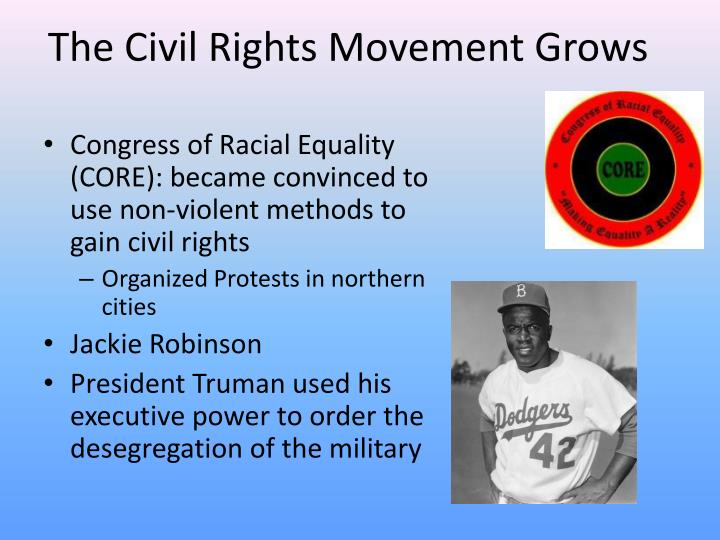 The Civil Rights Movement Grows