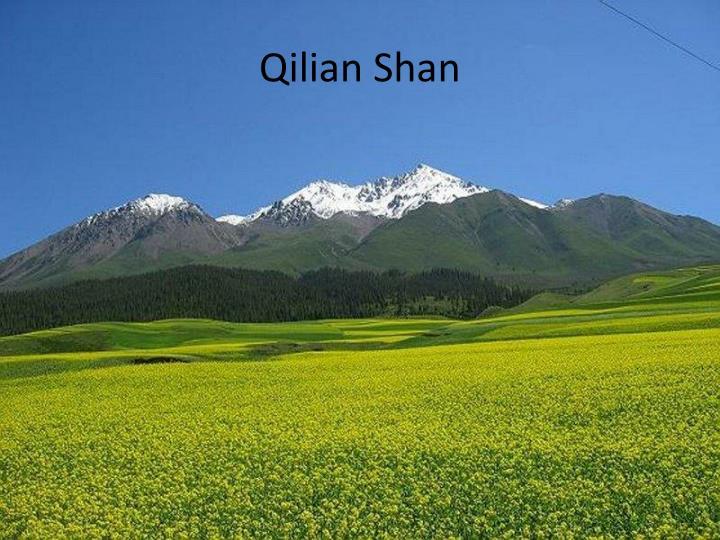 Qilian Shan