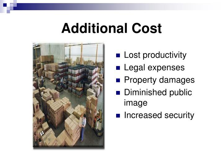 Additional Cost