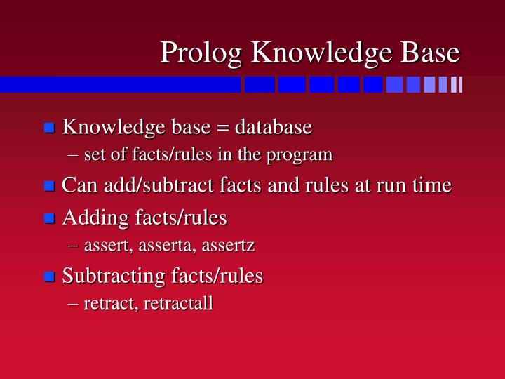 Prolog Knowledge Base