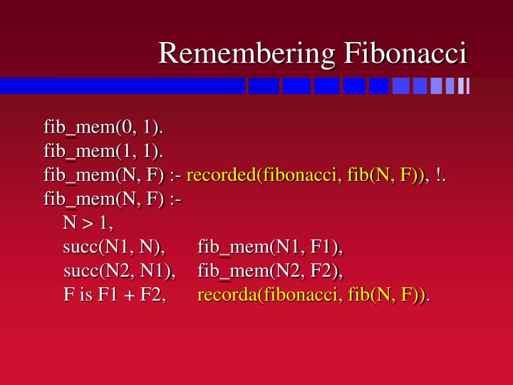 Remembering Fibonacci
