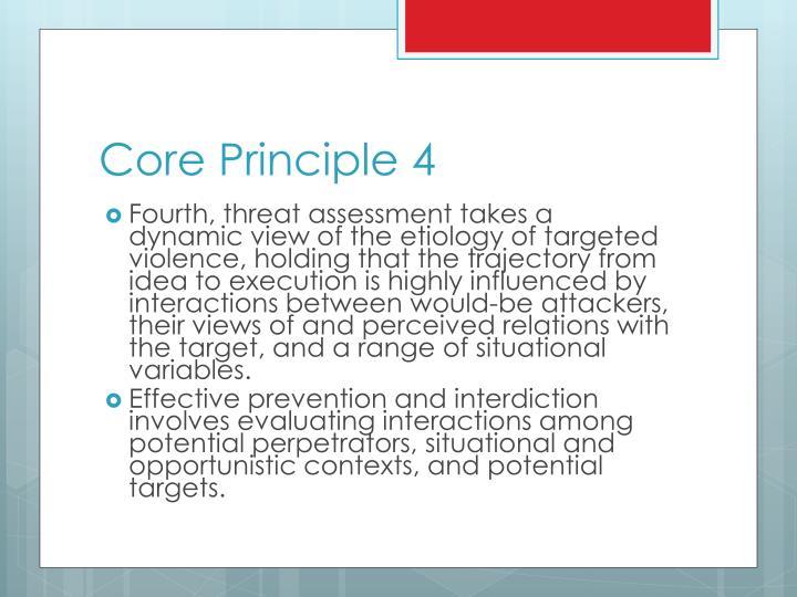 Core Principle 4