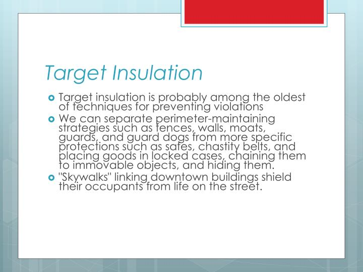 Target Insulation