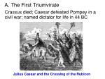 a the first triumvirate1