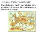 b laws trade transportation3