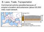 b laws trade transportation4
