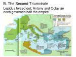 b the second triumvirate1