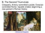 b the second triumvirate3