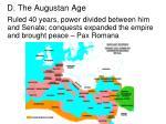 d the augustan age