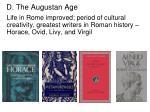 d the augustan age1