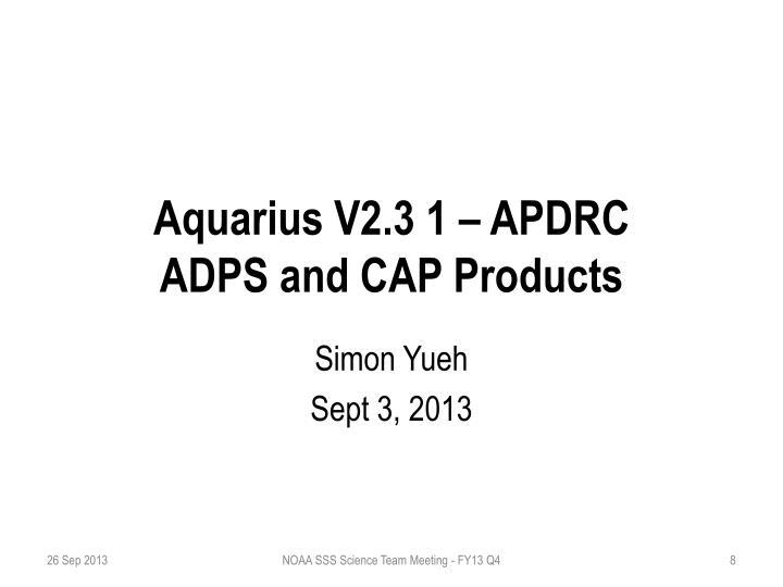 Aquarius V2.3 1 – APDRC