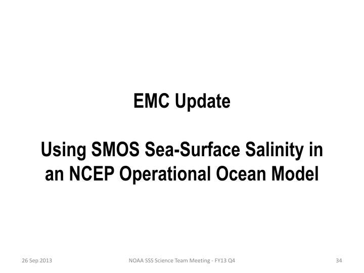 EMC Update