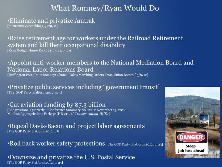 What Romney/Ryan