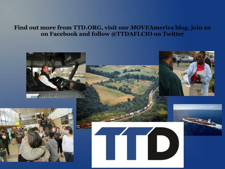 Find out more from TTD.ORG, visit our