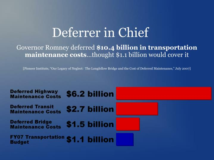 Deferrer in Chief