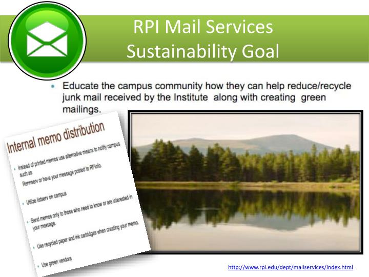 RPI Mail Services