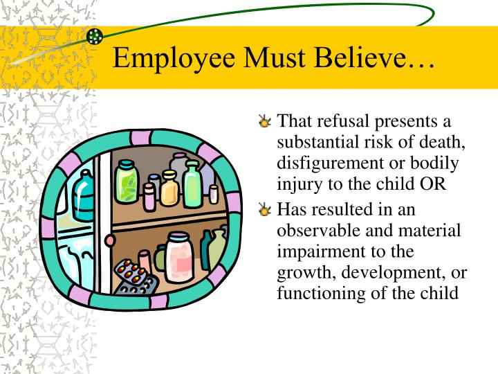 Employee Must Believe…