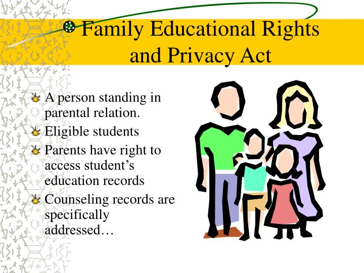 Family Educational Rights
