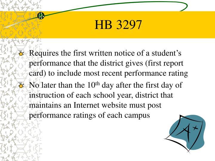 HB 3297