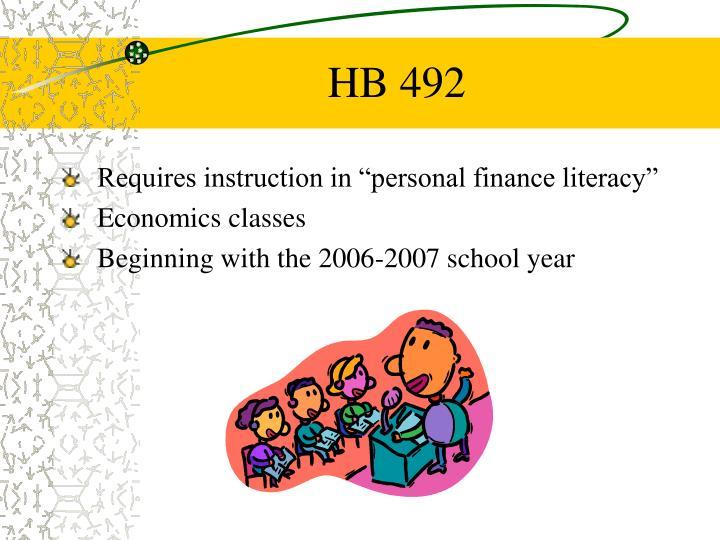 HB 492