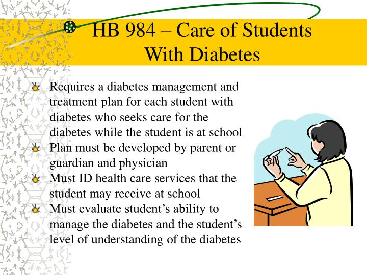 HB 984 – Care of Students