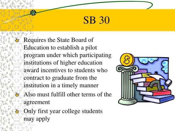 SB 30