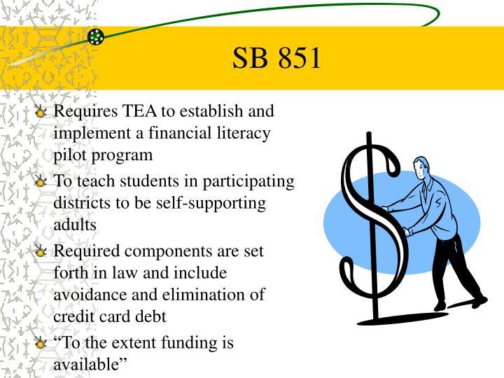 SB 851