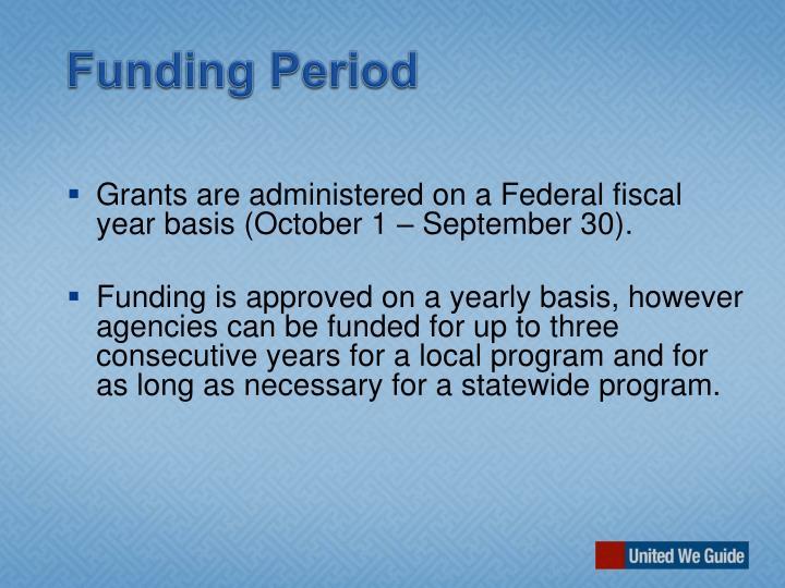 Funding Period