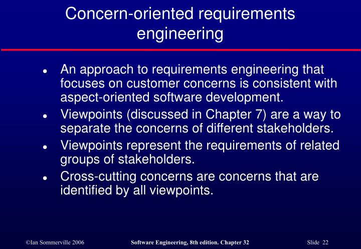 Concern-oriented requirements engineering
