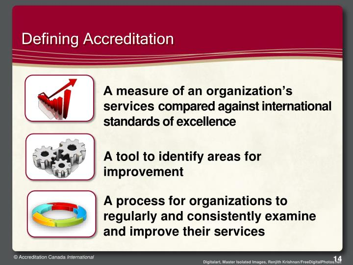 Defining Accreditation