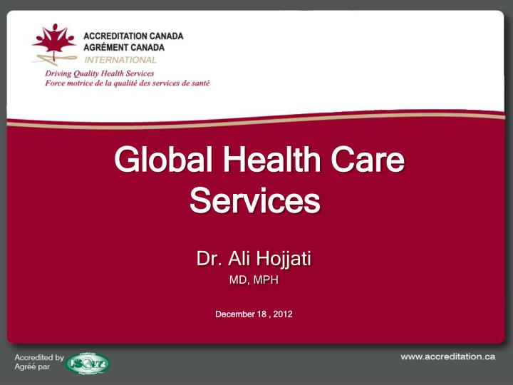 Global Health Care Services