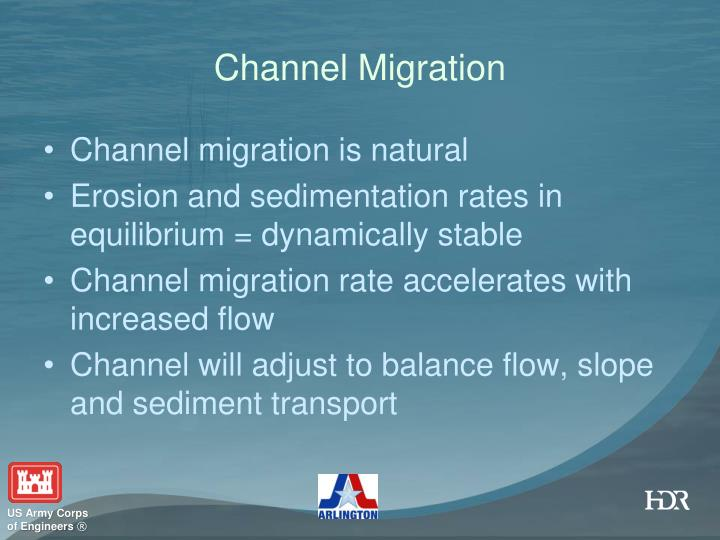 Channel Migration